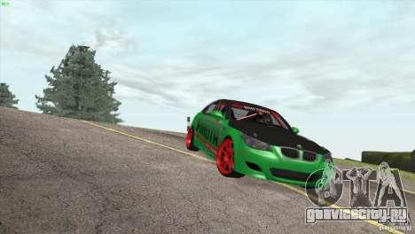BMW M5 E60 Darius Balys для GTA San Andreas вид сбоку