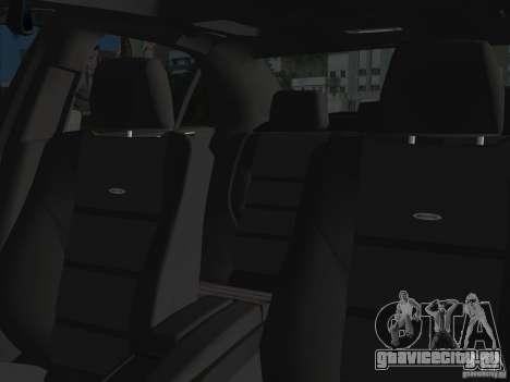 Mercedes-Benz E63 AMG для GTA Vice City вид сверху