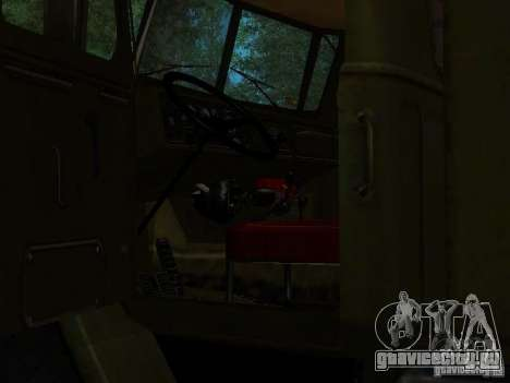 Урал 4320 Кунг для GTA San Andreas вид сбоку