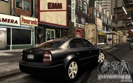 Skoda SuperB для GTA 4 вид сверху