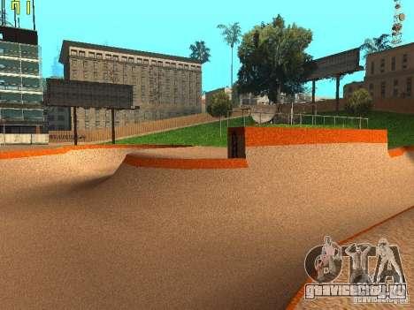 New SkatePark v2 для GTA San Andreas шестой скриншот