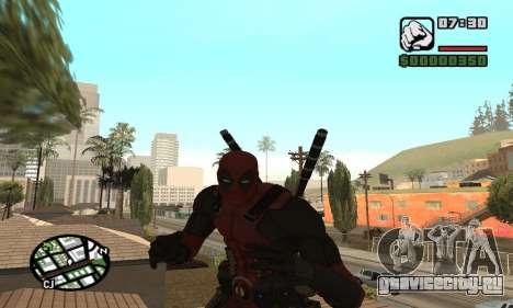 Dead Pool для GTA San Andreas пятый скриншот