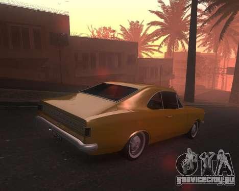Chevrolet Opala Gran Luxo для GTA San Andreas вид слева