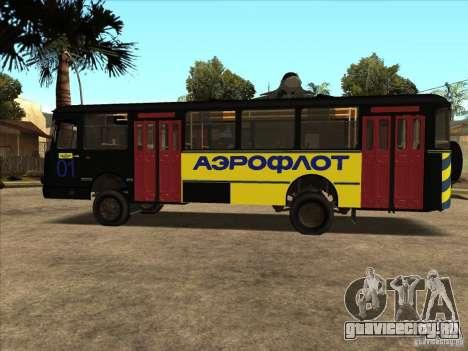 ЛиАЗ 677п для GTA San Andreas