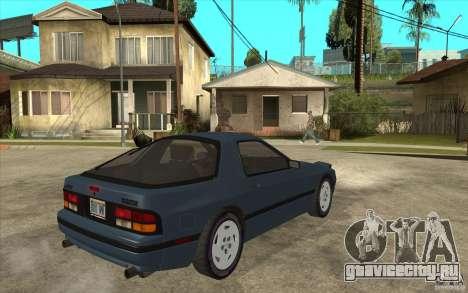 Mazda RX7 FC3S Stock для GTA San Andreas вид справа