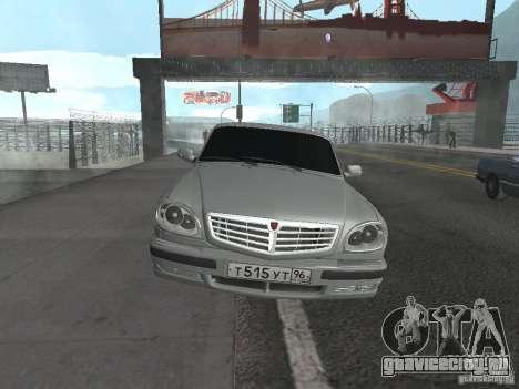 ГАЗ Волга 31105 для GTA San Andreas вид справа