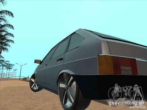 ВАЗ 21093i Light Tuning для GTA San Andreas вид сзади