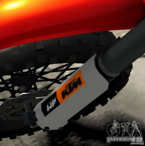 KTM EXC 450 для GTA 4 вид сверху