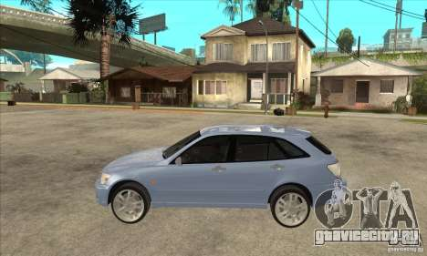 Toyota Alteza Wagon для GTA San Andreas вид слева