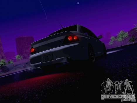 Mitsubishi Lancer Evolution VIII для GTA San Andreas двигатель