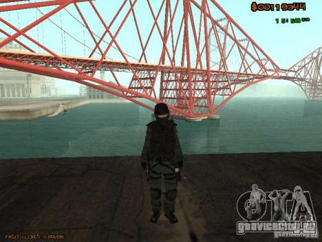 Sheriff Departament Skins Pack для GTA San Andreas шестой скриншот
