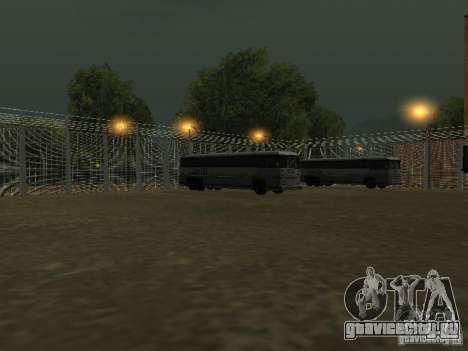 Автобусный парк v1.1 для GTA San Andreas пятый скриншот