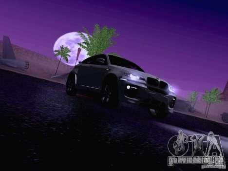 BMW X6 LT для GTA San Andreas салон