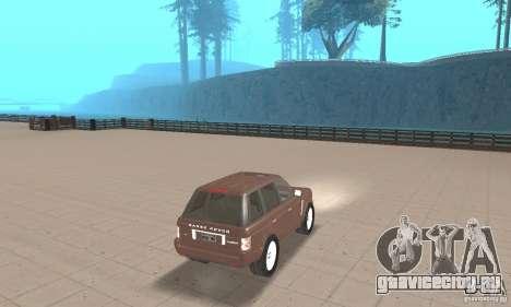 Range Rover Vogue 2004 для GTA San Andreas вид слева