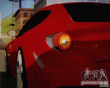 Ferrari FF Sport 2011 для GTA San Andreas вид сбоку
