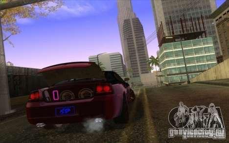 Dodge Charger SRT 8 для GTA San Andreas вид изнутри