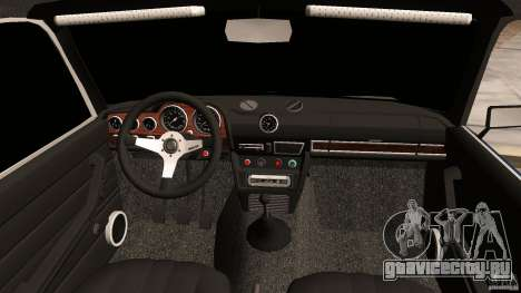 ВАЗ 2106 Tuning v2.0 для GTA Vice City вид изнутри