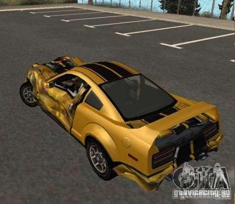 Road King from FlatOut 2 для GTA San Andreas вид справа