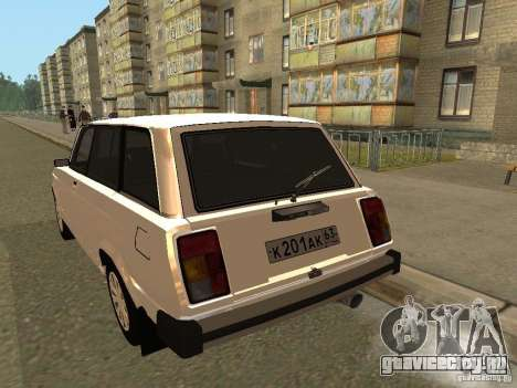 ВАЗ 2104 для GTA San Andreas вид справа
