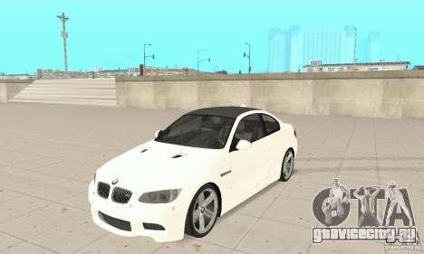 BMW M3 2008 Hamann v1.2 для GTA San Andreas вид слева