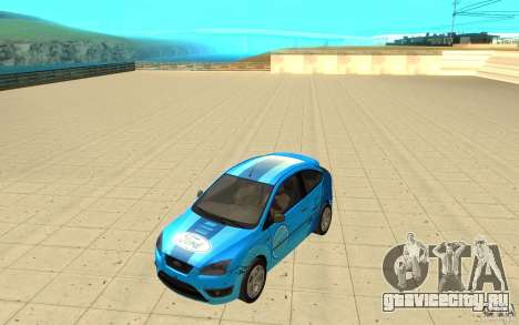 Ford Focus-Grip для GTA San Andreas вид изнутри