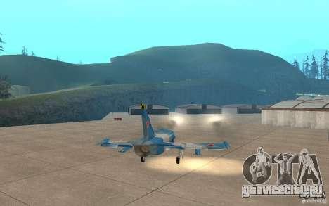 L-39 Albatross для GTA San Andreas вид сверху
