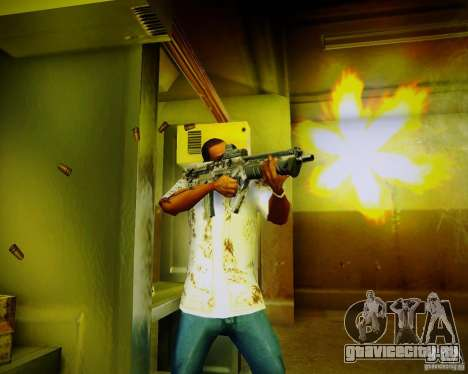 Tavor Tar-21 Digital для GTA San Andreas четвёртый скриншот