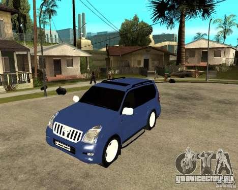 2009 toyota land cruiser prado для GTA San Andreas