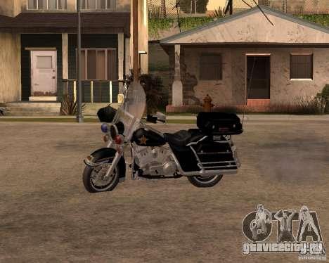 Harley Davidson Police 1997 для GTA San Andreas вид слева