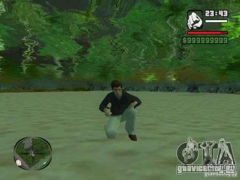 Tony Montana в Рубашке для GTA San Andreas третий скриншот
