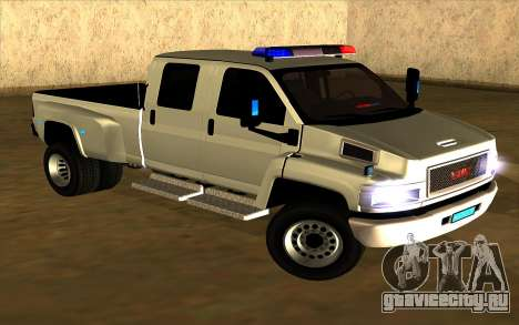 GMC Topkick C4500 для GTA San Andreas вид слева
