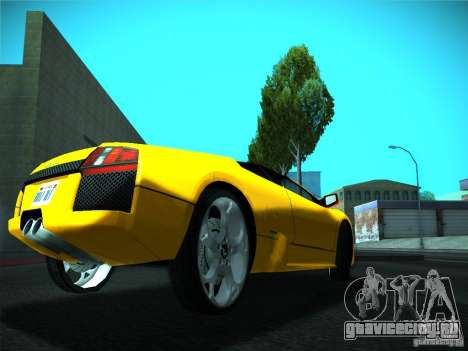 ENBSeries by GaTa для GTA San Andreas второй скриншот