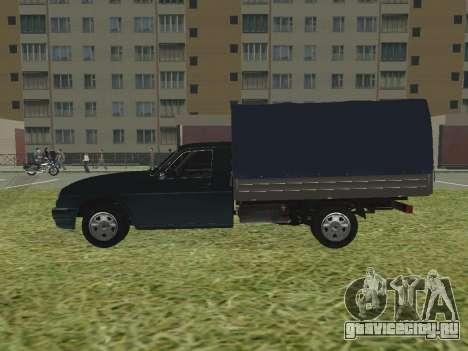 ГАЗ 17310 Трофим для GTA San Andreas вид слева