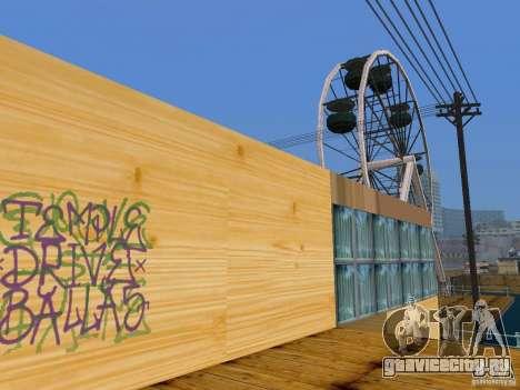 Новые текстуры пляжа v2.0 для GTA San Andreas пятый скриншот