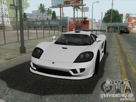 Saleen S7 Twin Turbo Competition Custom для GTA San Andreas