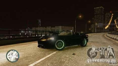 Green Neon Banshee для GTA 4 вид слева