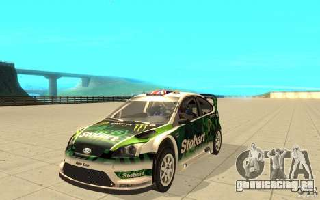 Ford Focus RS WRC 08 для GTA San Andreas колёса