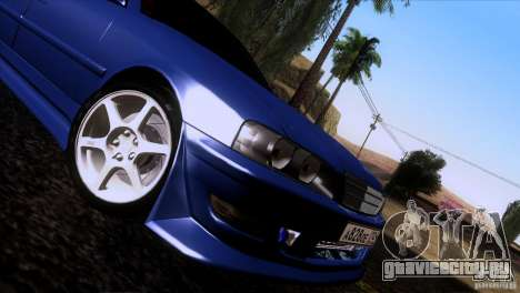 Toyota Chaser Tourer для GTA San Andreas вид сзади слева