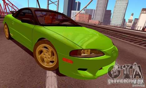 Eagle Talon TSi AWD 1998 для GTA San Andreas вид сзади слева