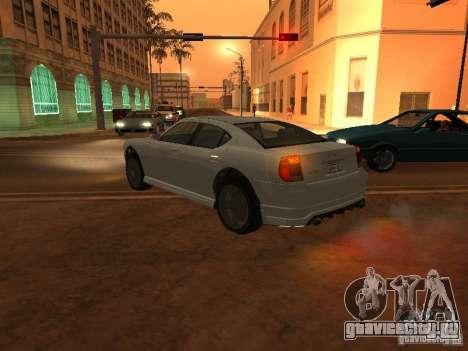 Buffalo из GTA 4 TBoGT для GTA San Andreas вид слева