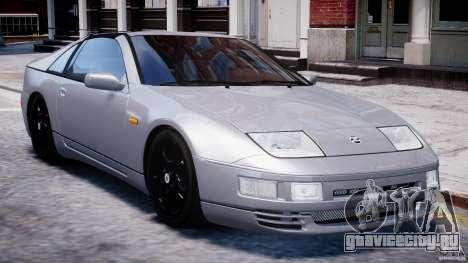 Nissan 300 ZX 1994 v1.0 для GTA 4 вид снизу