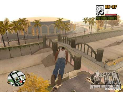 FLY men - CJ будет круче супермена для GTA San Andreas пятый скриншот