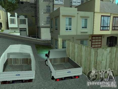 Ford Transit 2005 для GTA San Andreas вид справа