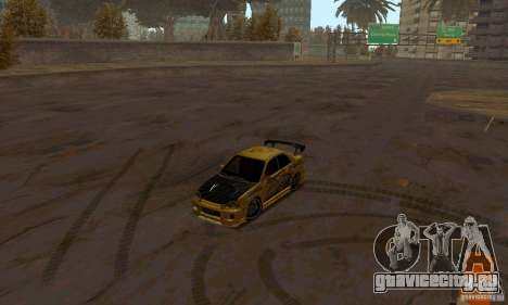 NFS Most Wanted - Paradise для GTA San Andreas десятый скриншот