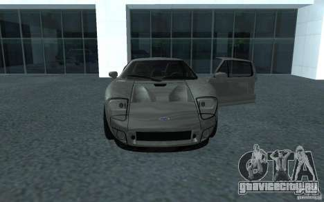 Ford GT 40 для GTA San Andreas вид сзади слева