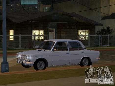 ВАЗ 2103 Low Classic для GTA San Andreas вид изнутри