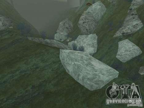 HD текстуры морского дна для GTA San Andreas