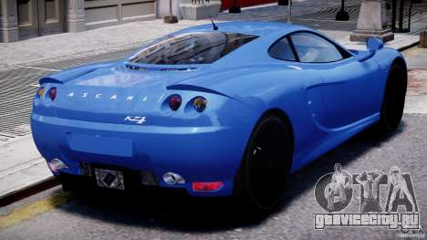 Ascari KZ-1 для GTA 4 салон