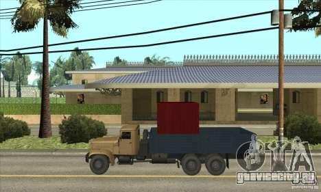 КрАЗ - 257 для GTA San Andreas вид слева