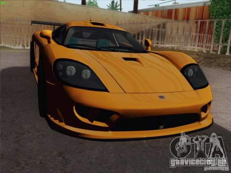 Saleen S7 Twin Turbo Competition Custom для GTA San Andreas вид сбоку